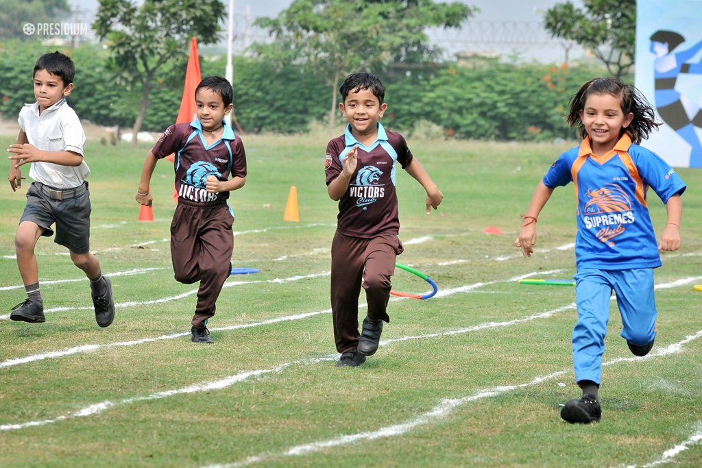 SPORTS DAY STRENGTHENS FRIENDLINESS & TEAM SPIRIT AT PRESIDIUM
