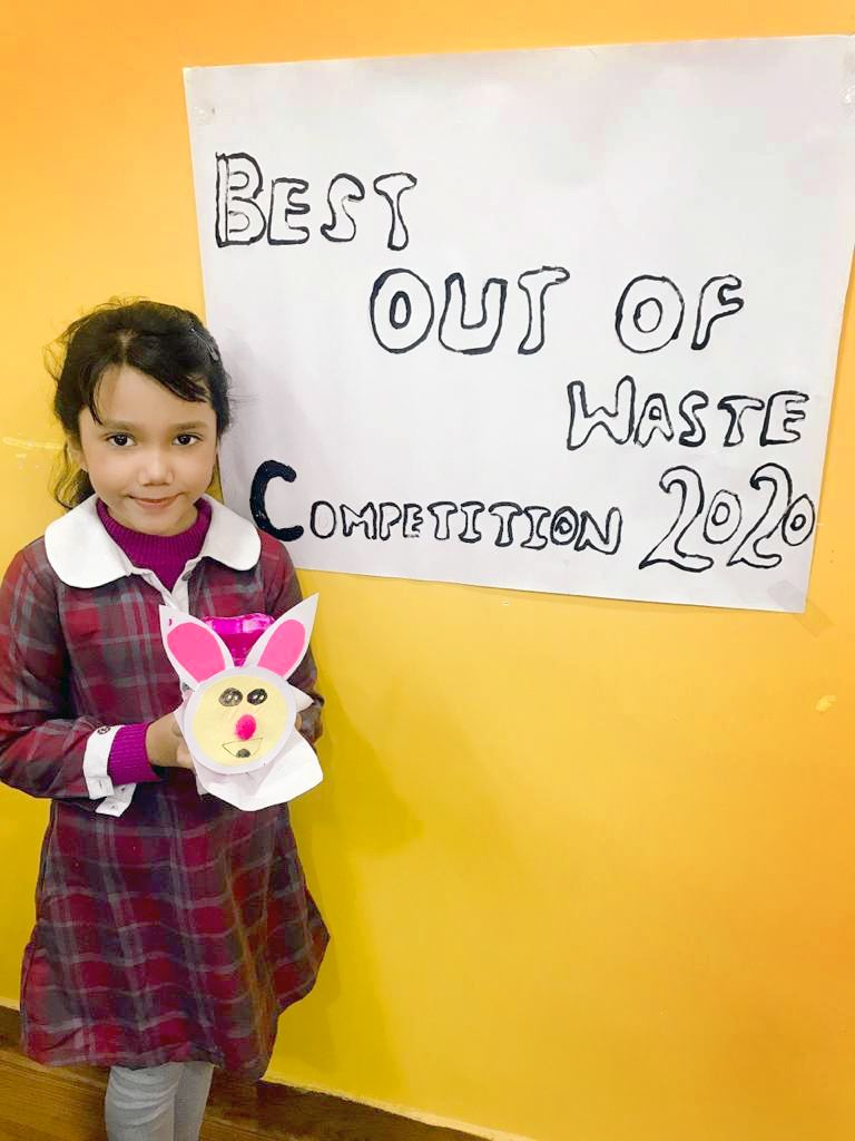 LITTLE ARTSY HANDS CREATE THE BEST OUT OF WASTE 2020