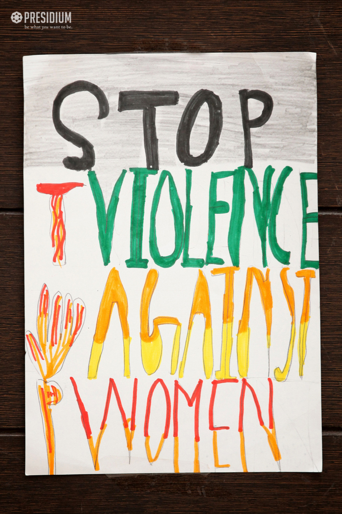PRESIDIANS SPREAD THE MESSAGE OF ENDING VIOLENCE AGAINST WOMEN