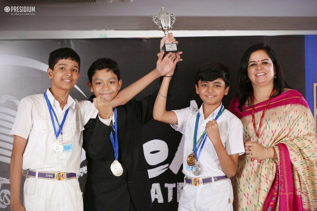WISE DEBATERS OF PRESIDIUM GURGAON QUALIFY FOR NATIONAL MAHABEHES