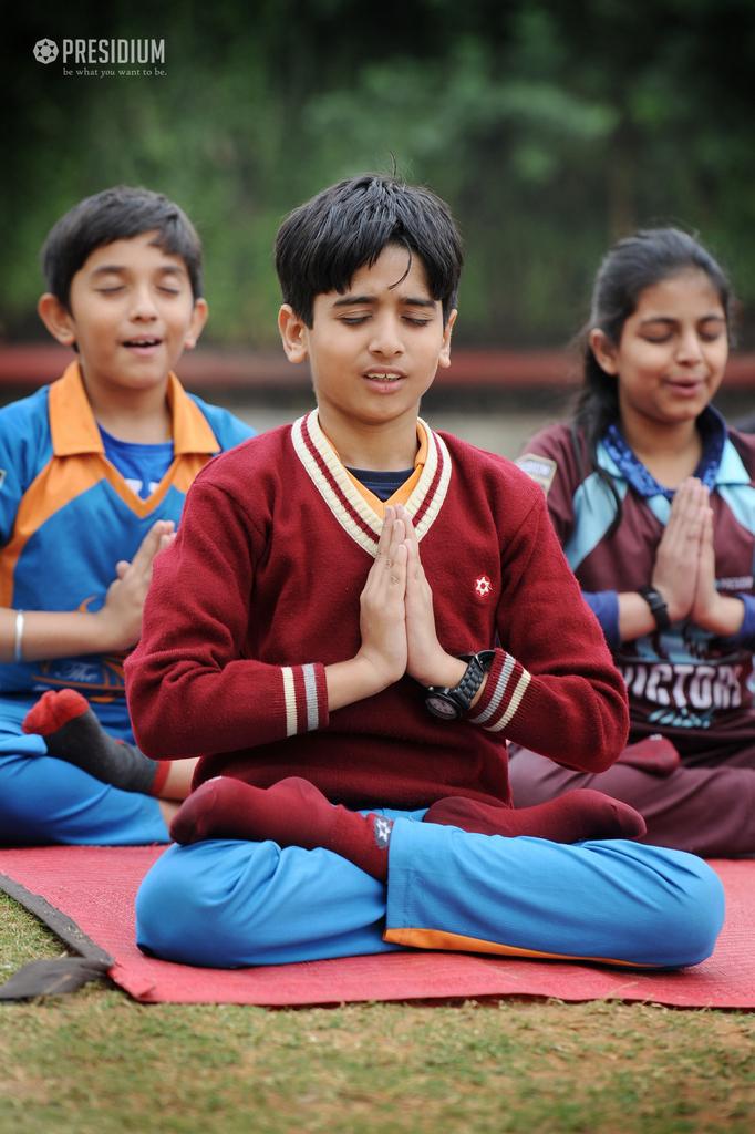 Meditation yoga Grade 5 2019