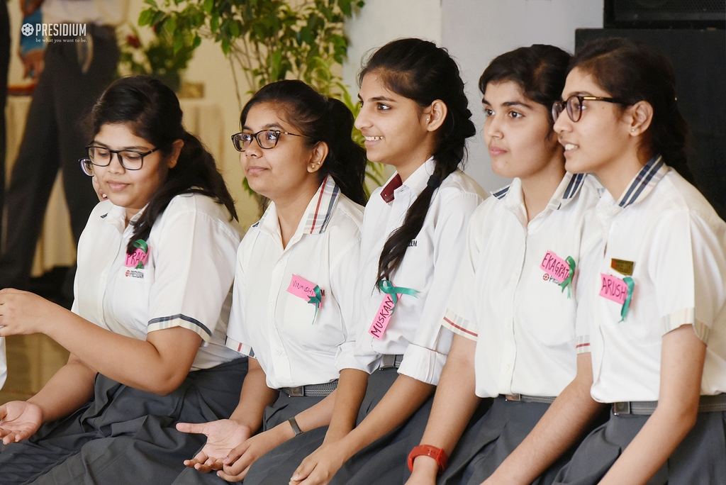 PRESIDIANS OBSERVE MENTAL HEALTH DAY UNDER SUDHA MAMS TUTELAG