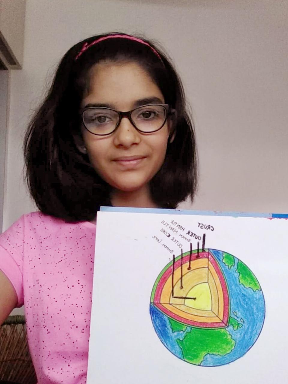 Interior of Earth (Grade 7) 2020