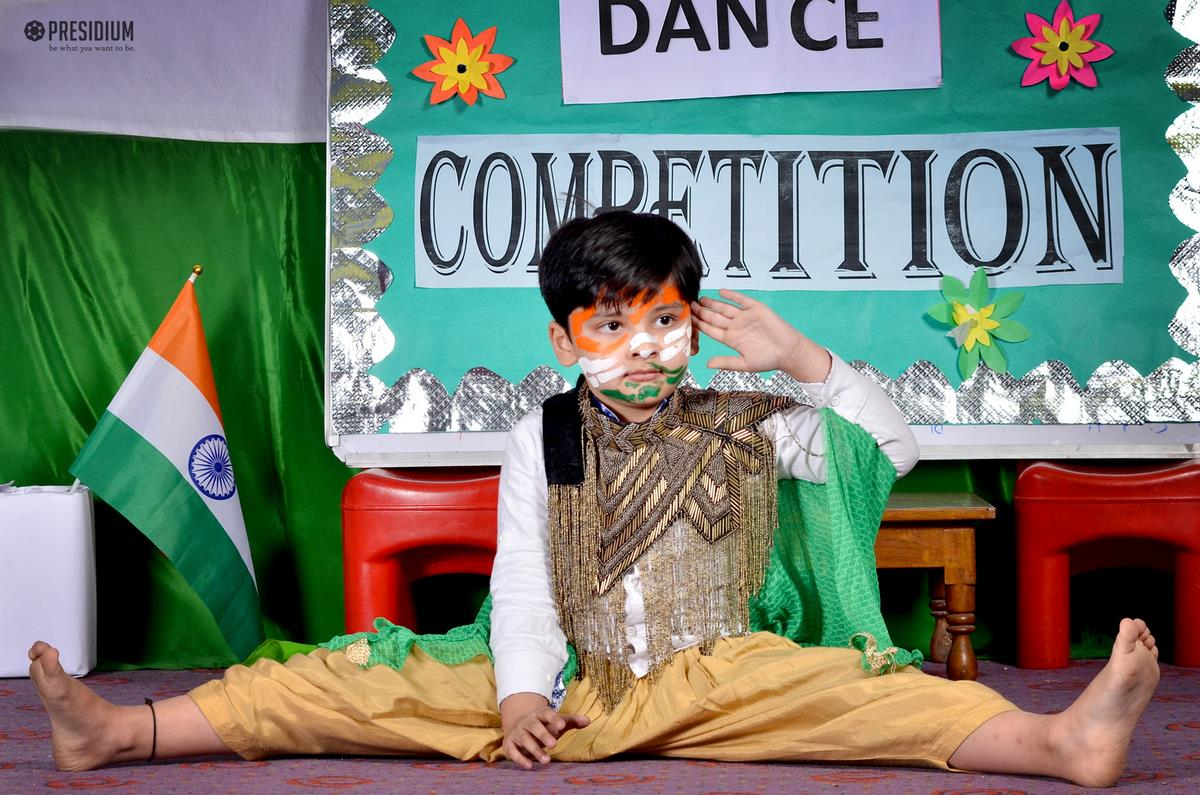 YOUNG DANCERS DISPLAY THEIR GRACEFUL POSES AND SWIFT MOVES!