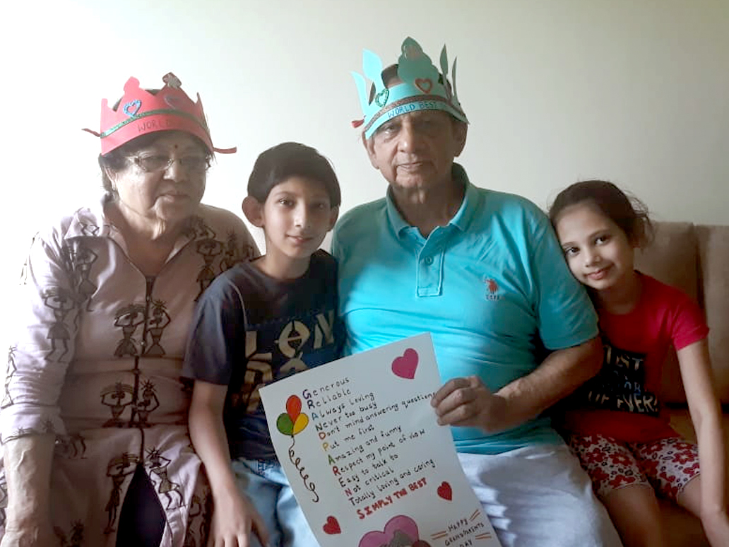CELEBRATING OUR ROOTS, GRANDPARENTS
