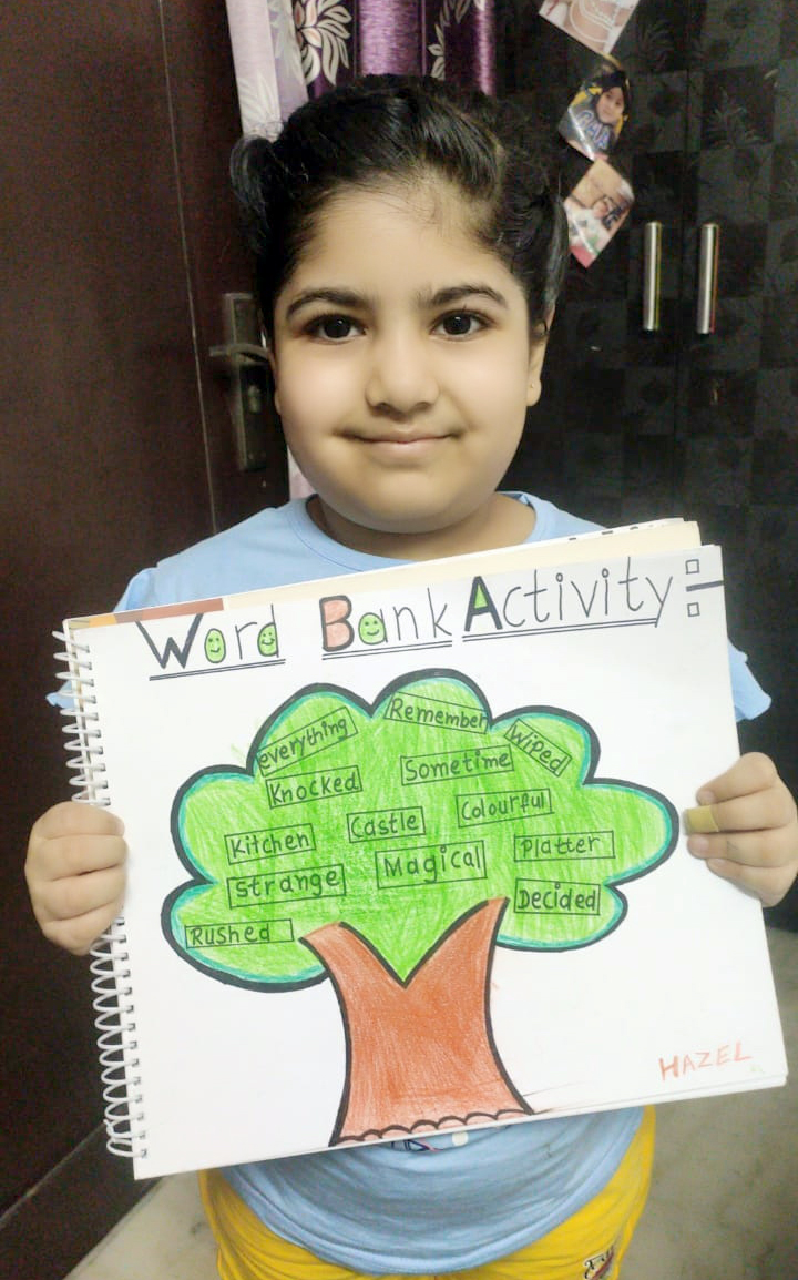 WORD BANK ACTIVITY 2020