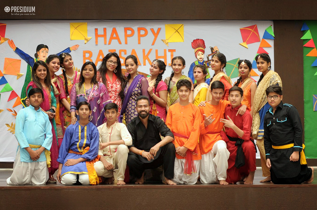 A FUN-FILLED BAISAKHI CELEBRATION ENLIVENS PRESIDIUMS CORRIDORS