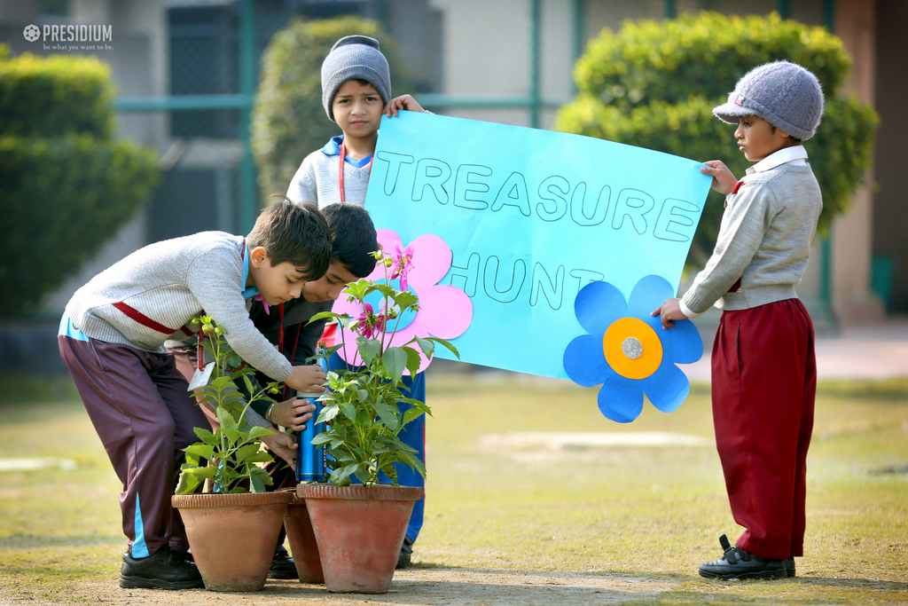 INTERESTING TREASURE HUNT ACTIVITY 2020