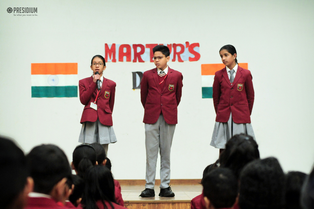 Assembly Martyr's Day (Grade 6)