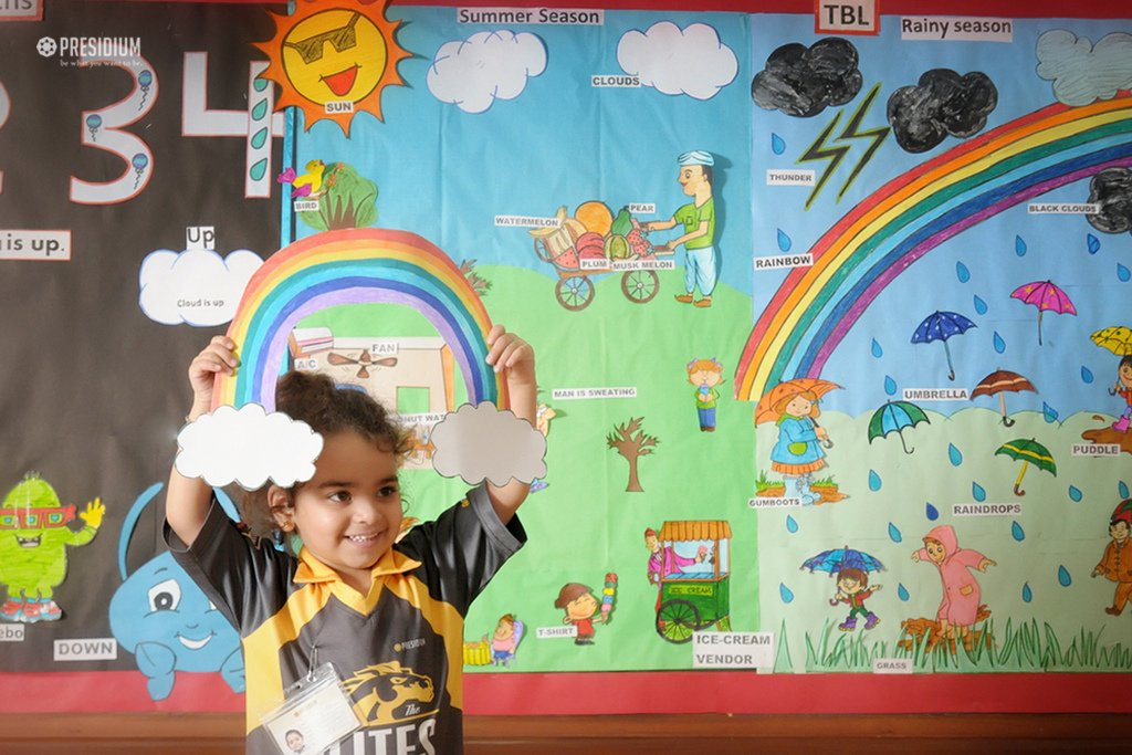 Presidium School, Rainy Seasons Celebration In School