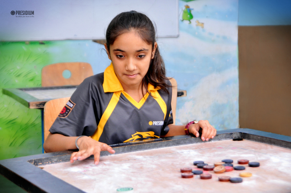 INTER-CLASS CARROM COMPETITION