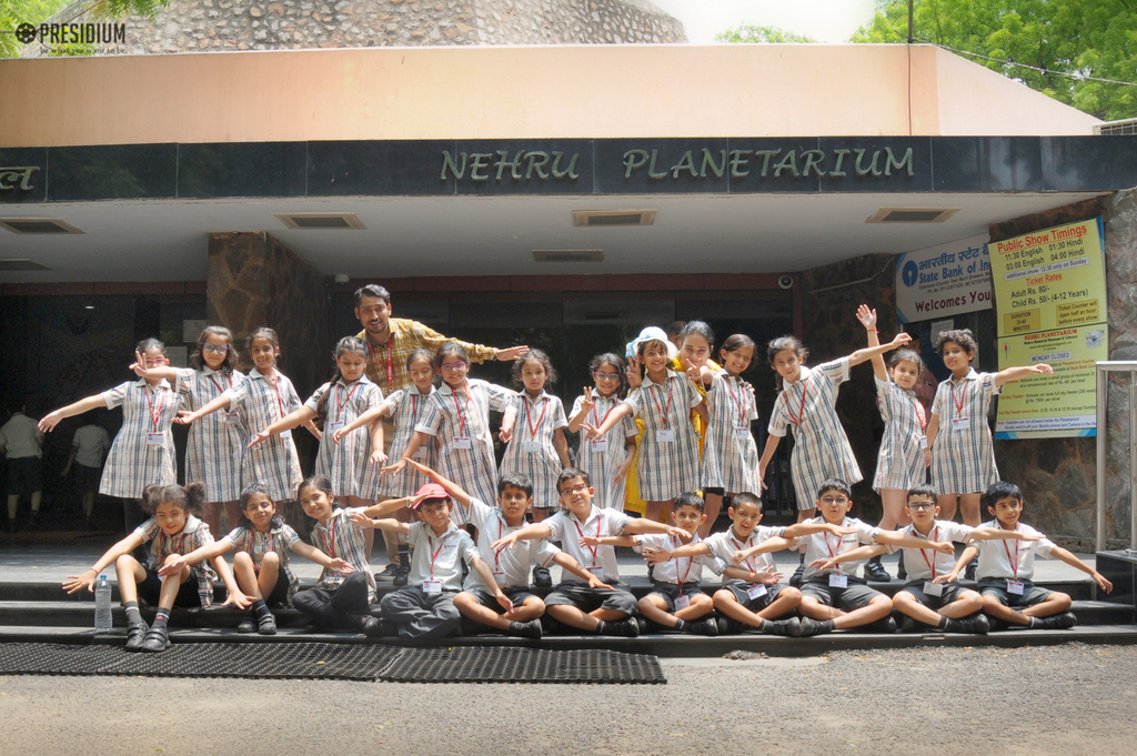VISIT TO NEHRU PLANETARIUM BOOSTS KIDS' CURIOSITY IN ASTRONOMY
