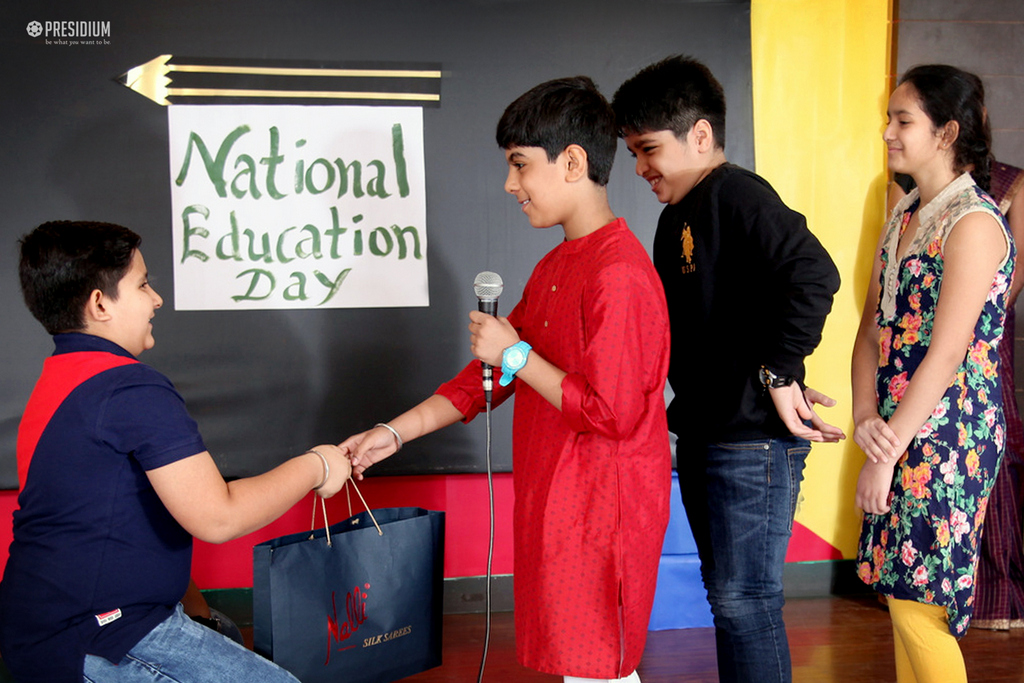 NATIONAL EDUCATION DAY 2018