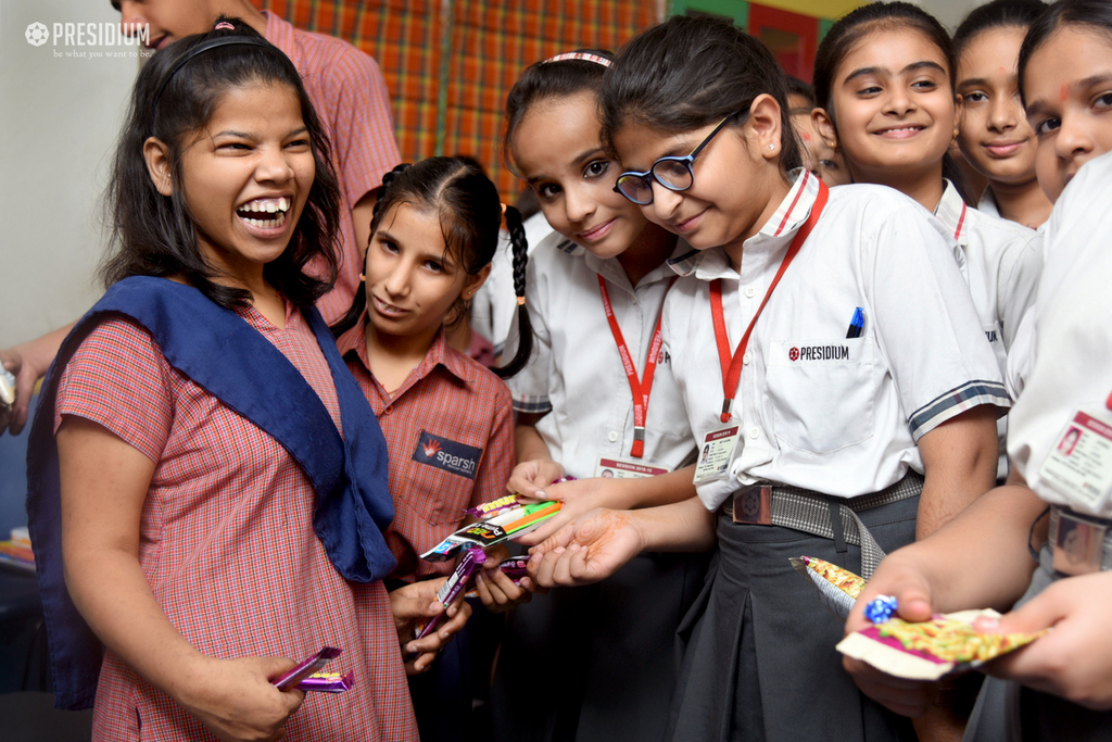 PRESIDIANS SPREAD HAPPINESS AT SPARSH SPECIAL SCHOOL 2019