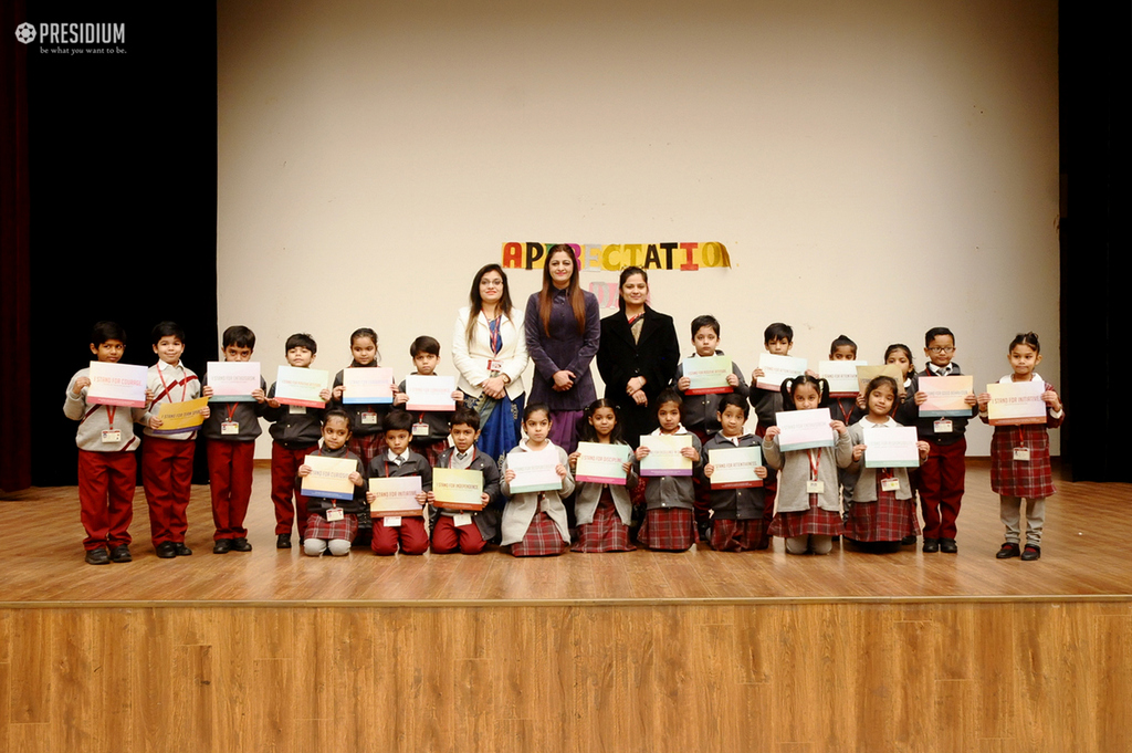 Special Assembly on Appreciation Day