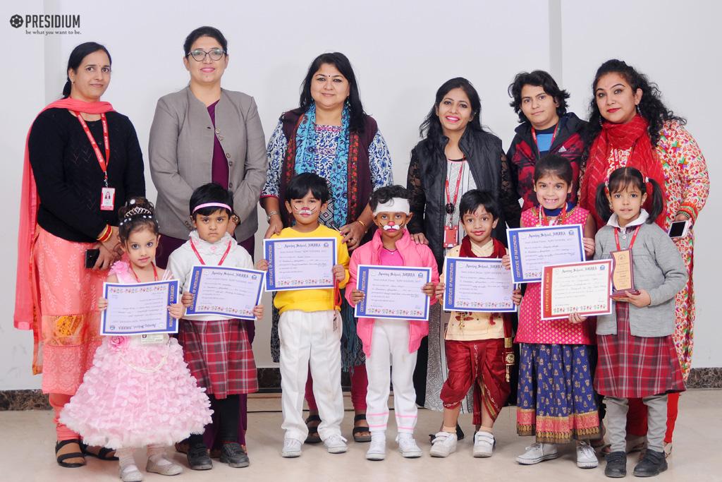 Paper Folding Achievement in Inter-School Fiesta - Nav Udaan