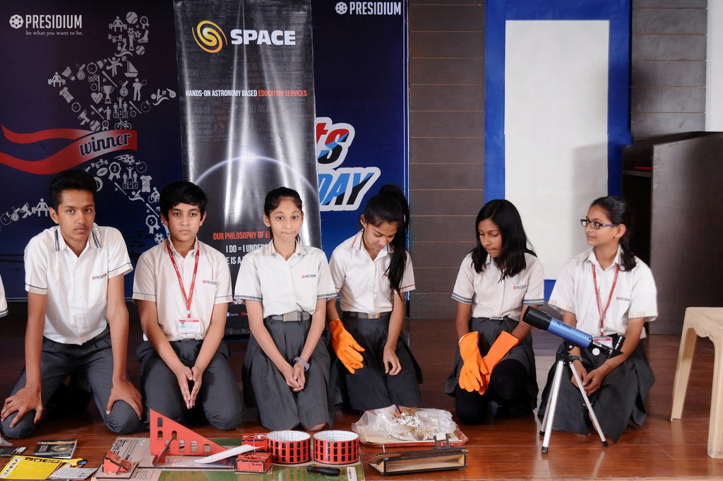Presentation by space group for astronomy work experience 2019