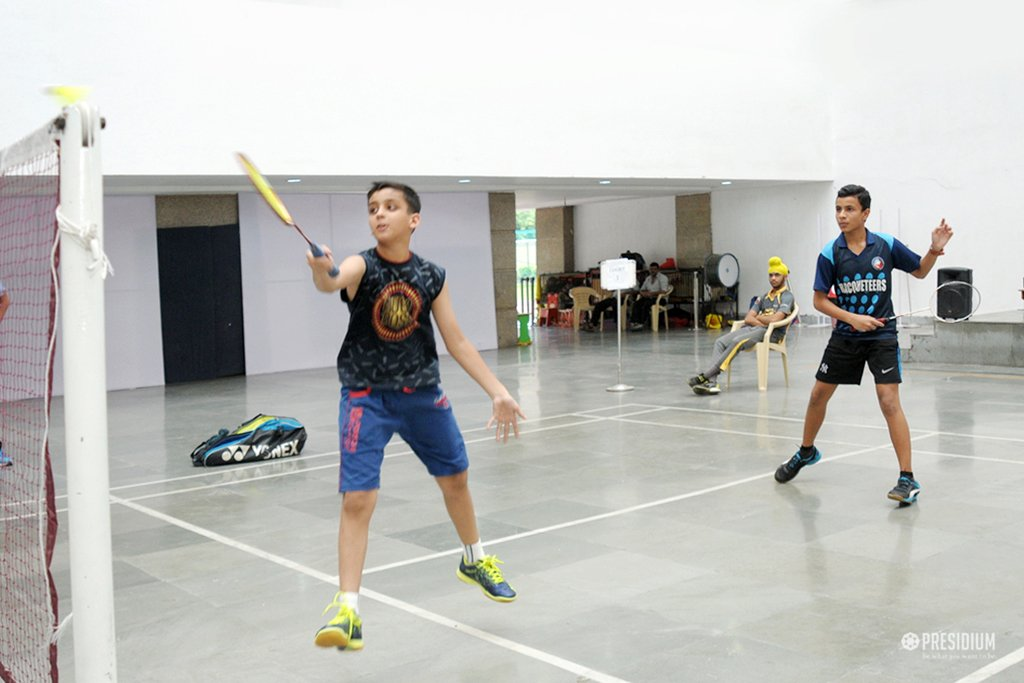 BADMINTON CONTEST