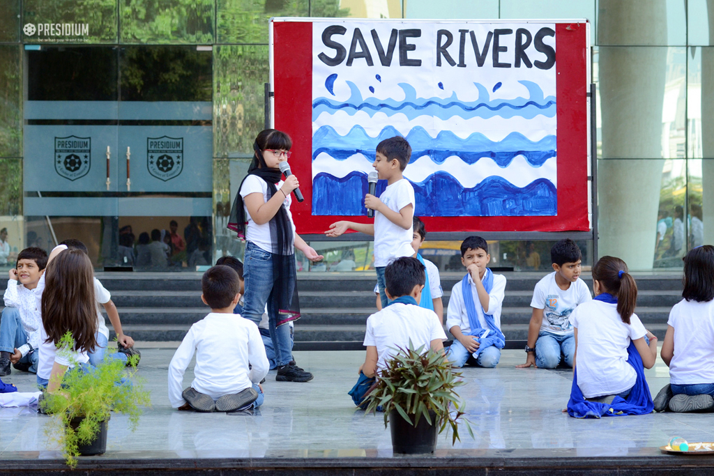 PRESIDIANS OF GURGAON PLEDGE THEIR SUPPORT TO RALLY FOR RIVERS