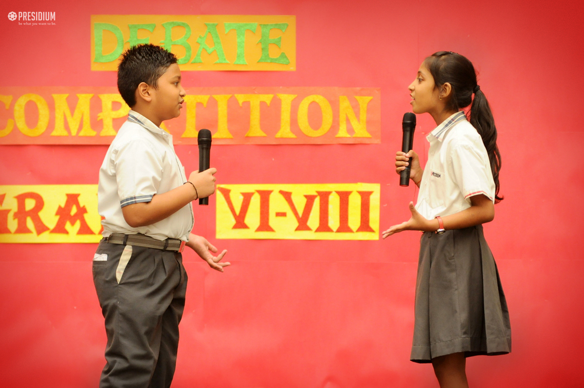 INTER-CLASS DEBATE: PRESIDIANS ENHANCE PRESENTATIONAL SKILLS