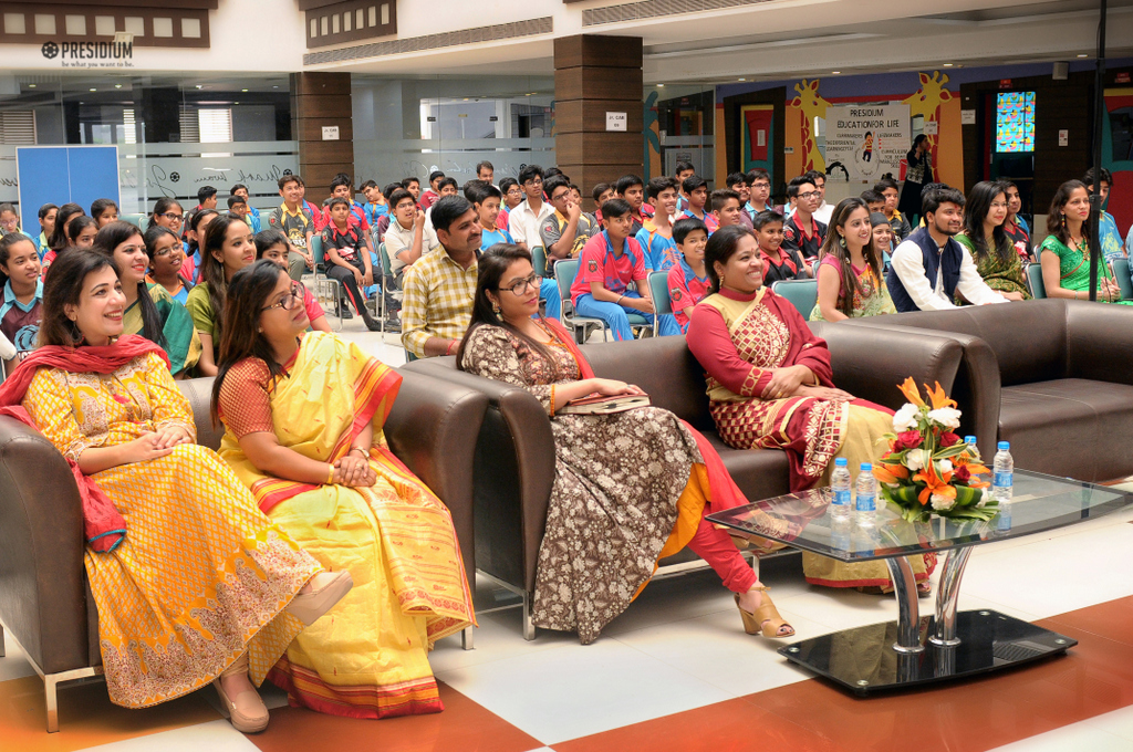 PRESIDIUM RAJ NAGAR HOSTS 'NRITYANJALI' – THE SPIC MACAY FESTIVAL
