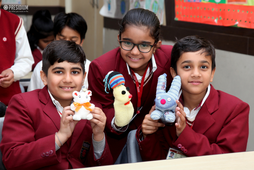 DEVELOPING CREATIVITY TALENT OF PRESIDIANS WITH PUPPET MAKING