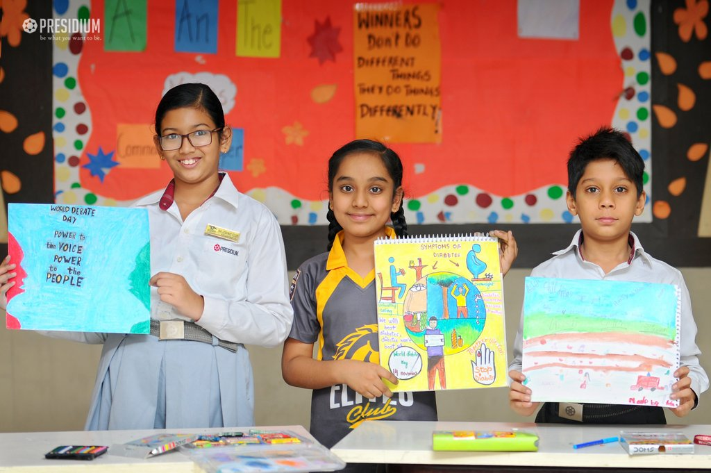 POSTER MAKING ACTIVITY ON DIABETES DAY 2019