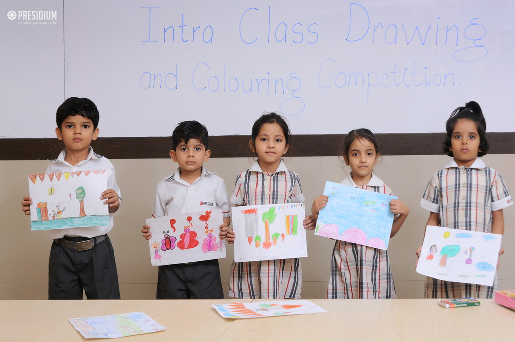 DRAWING & COLOURING CONTEST BRINGS OUT CREATIVITY OF PRESIDIANS