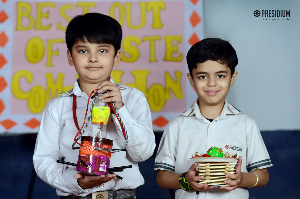 BEST OUT OF WASTE COMPETITION 2019