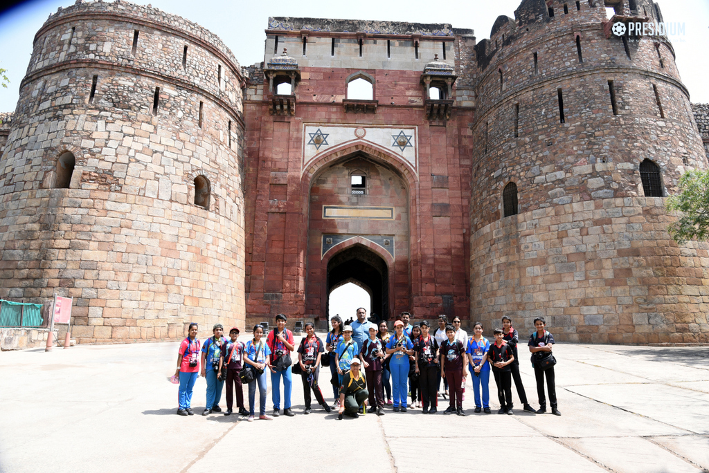 STUDENTS DISPLAY THEIR MAGICAL PHOTOGRAPHY SKILLS AT PURANA QUILA