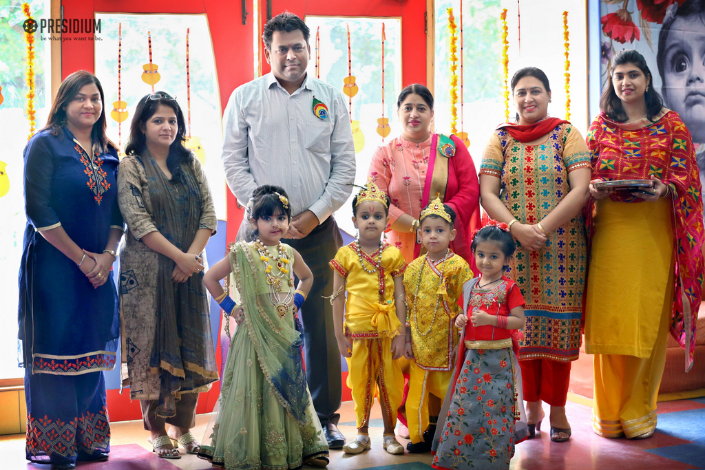 PRESIDIUM CELEBRATES JANMASHTAMI WITH ZEAL