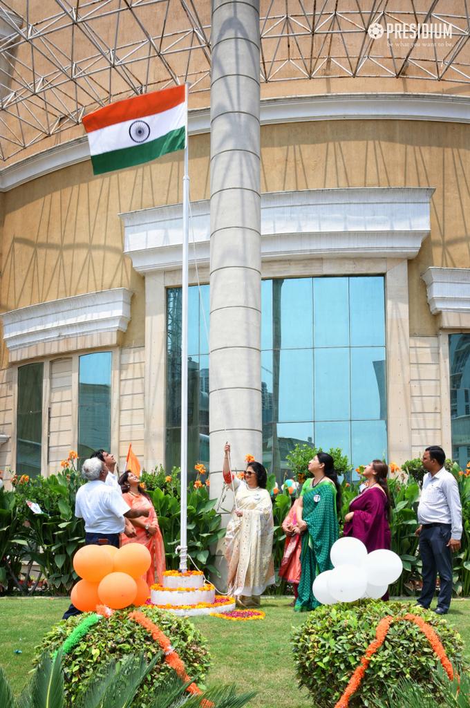 MRS.SUDHA GUPTA GRACES THE GRAND INDEPENDENCE DAY CELEBRATION