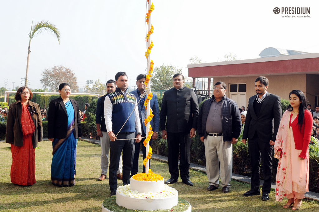 PRESIDIANS CELEBRATE THE INDIAN CONSTITUTION ON 70TH REPUBLIC DAY