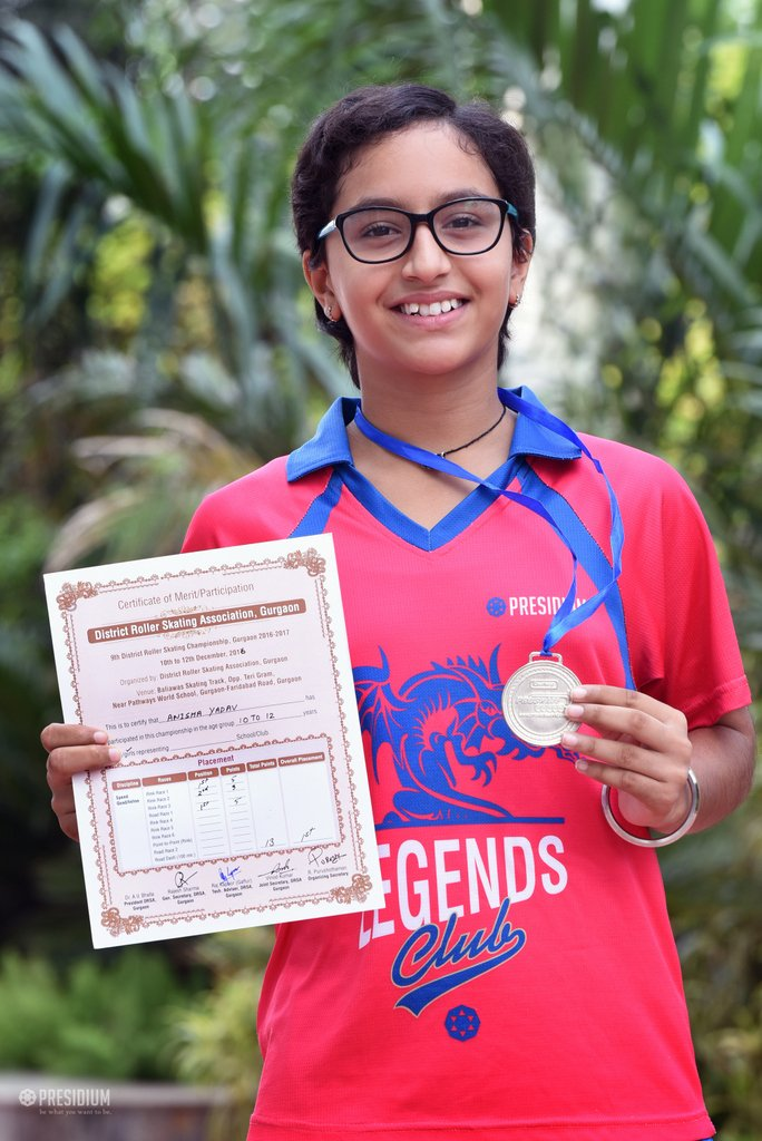 DISTRICT SCHOOL SKATING 2017: PRESIDIANS GLIDE TOWARDS VICTORY