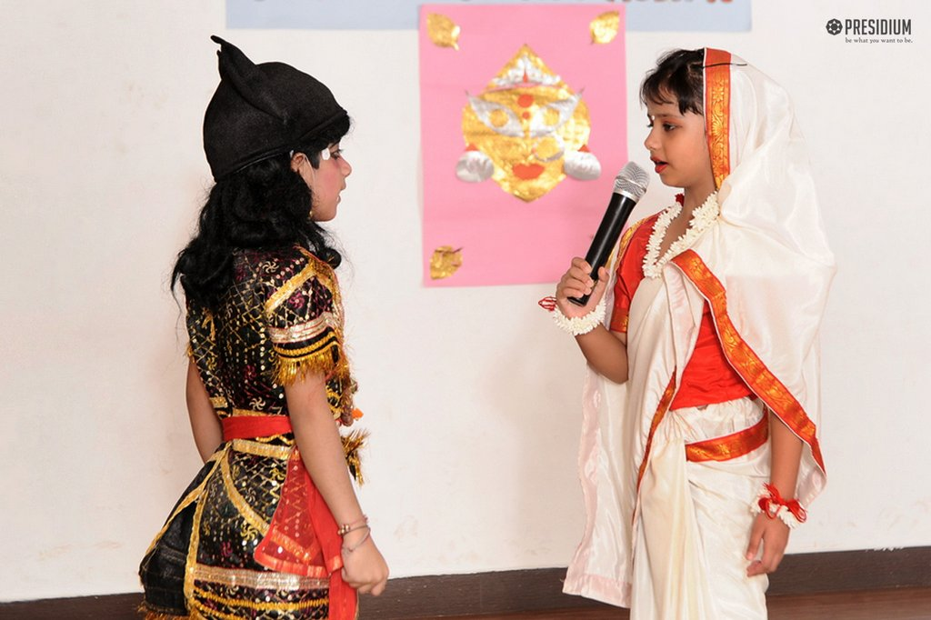 DUSSEHRA REVELS AT PRESIDIUM GURGAON: FESTIVE SPIRIT IN THE AIR