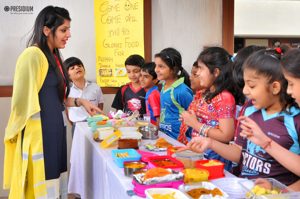 PRESIDIANS SHOWCASE INDIA'S UNITY IN DIVERSITY THROUGH FOOD FAIR