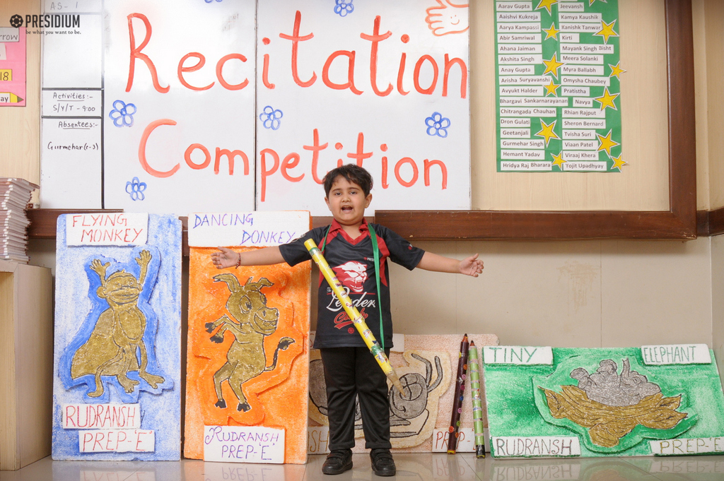 RHYME RECITATION COMPETITION: PRESIDIANS EXPLORE MAGIC OF WORDS