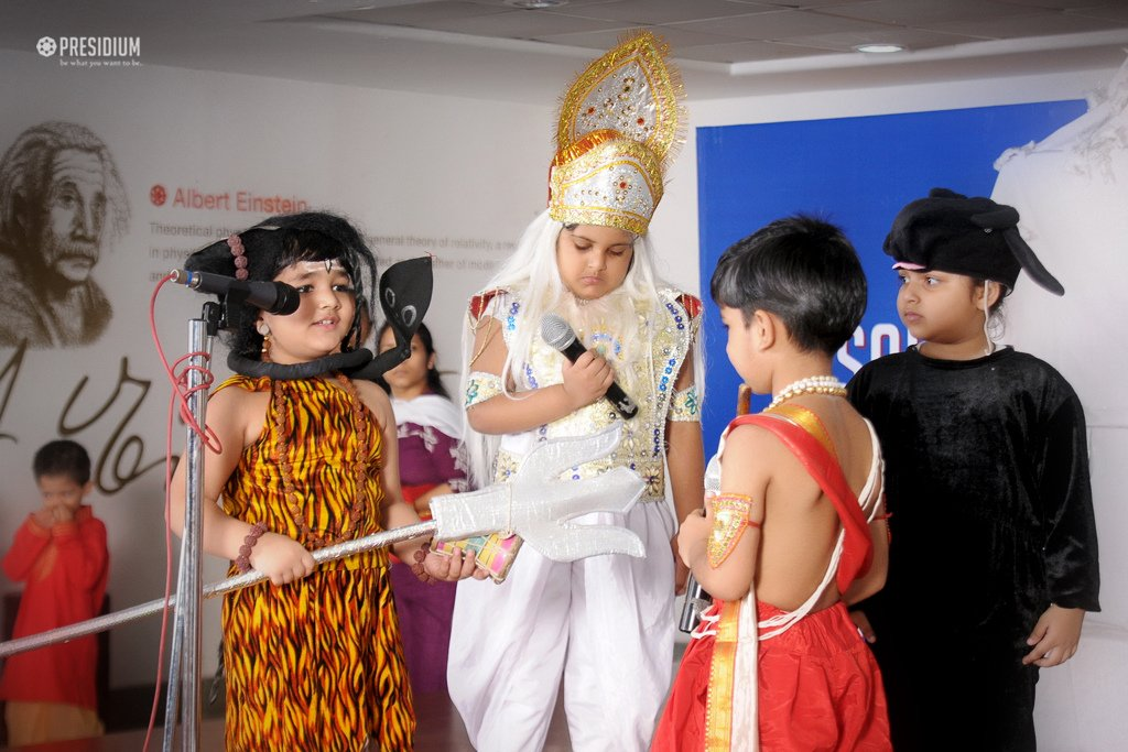 Presidium School, GANESH CHATURTHI CELEBRATIONS in Schools, Theme of Ganesh Chaturthi