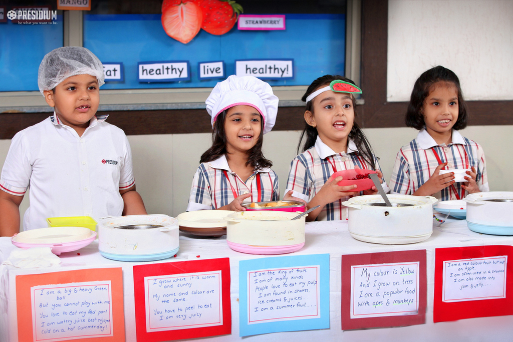PRESIDIANS LEARN TO MAKE SALADS FOR A BALANCED DIET
