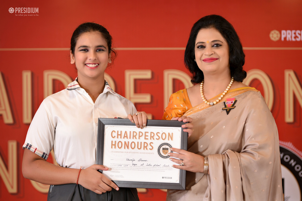 CHAIRPERSON HONORS CEREMONY 2019
