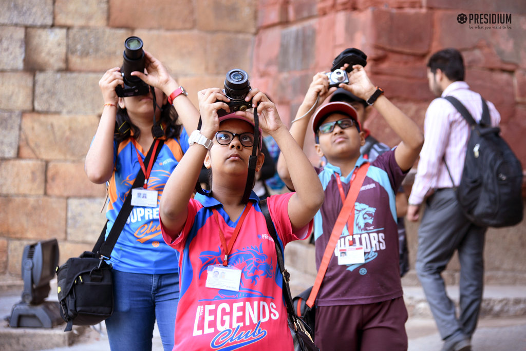 Photography Practice of HP Academy Students at Purana Quila