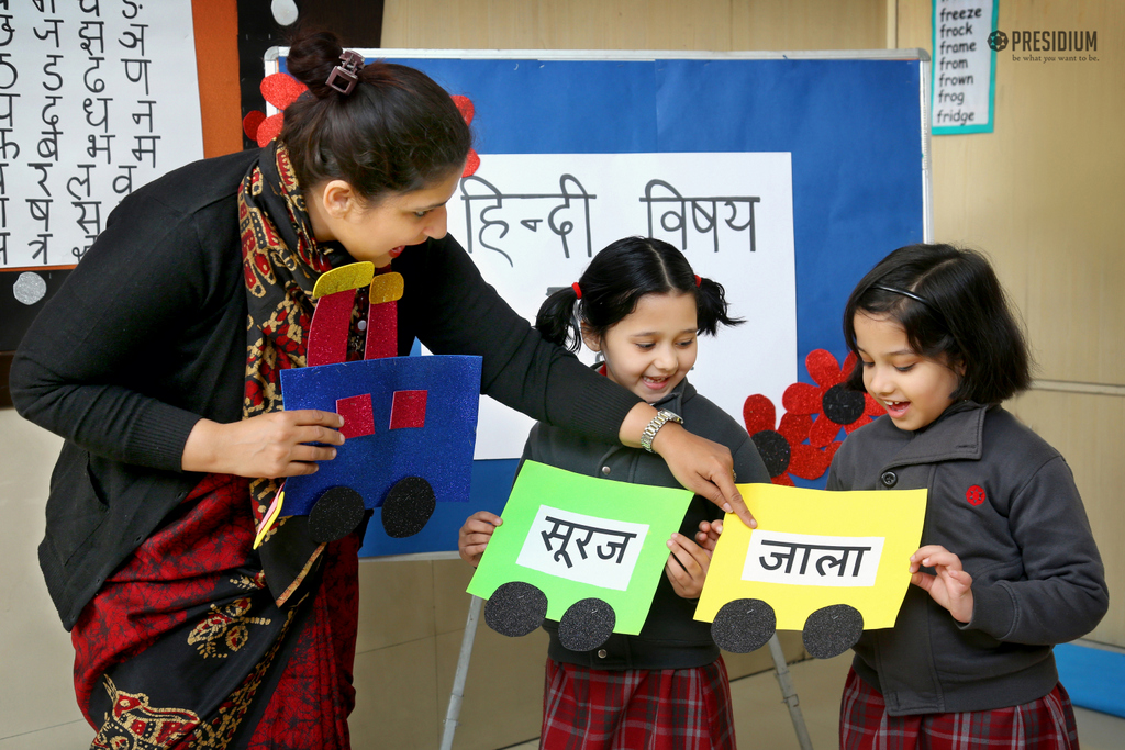 Subject Enrichment activity Hindi Week 2020