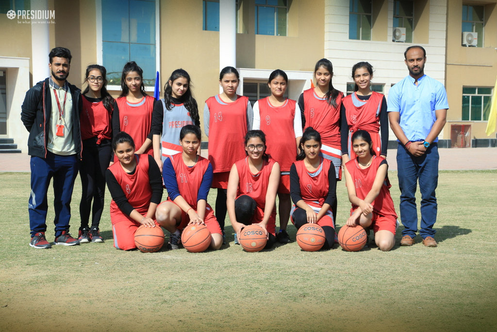EVOKING PRESIDIANS' SPORTY SIDE AT INTER-SCHOOL BASKETBALL MATCH
