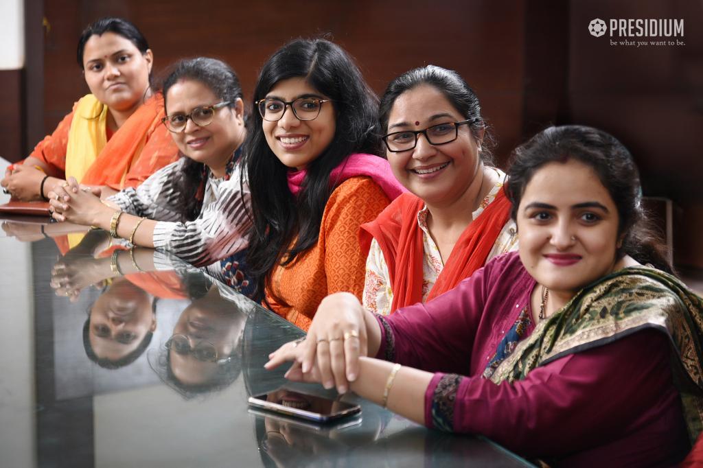 MRS.SUDHA CONGRATULATES MENTORS FOR EXCELLENT CBSE GRADE 10 RESULTS