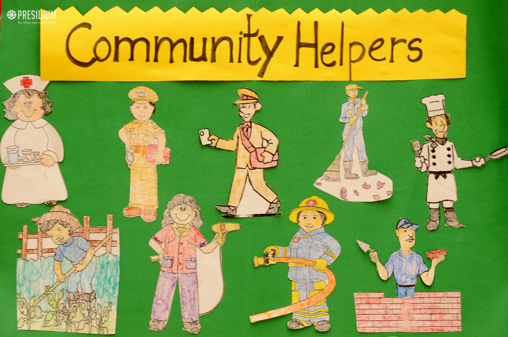 Learning about Community Helpers