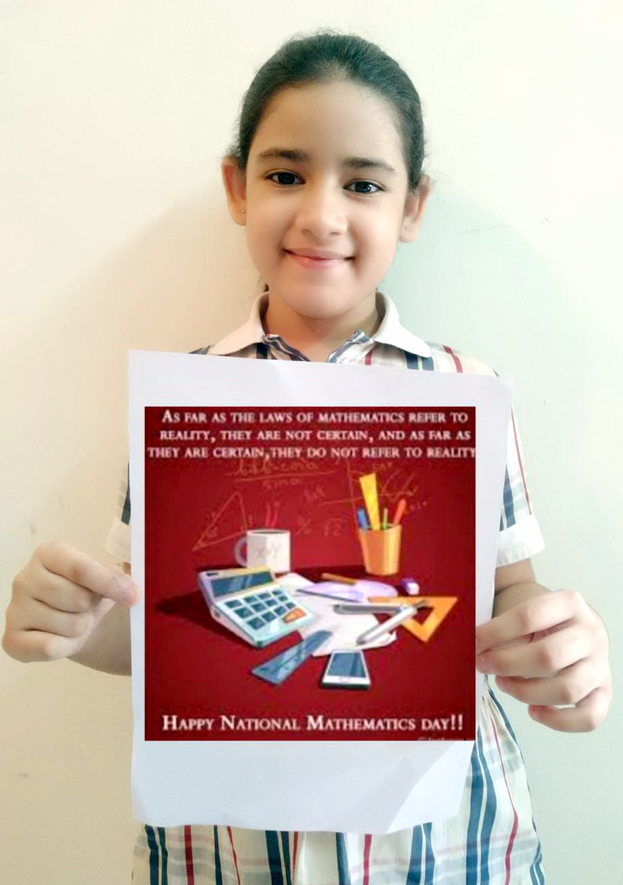 NATIONAL MATHEMATICS DAY 2020