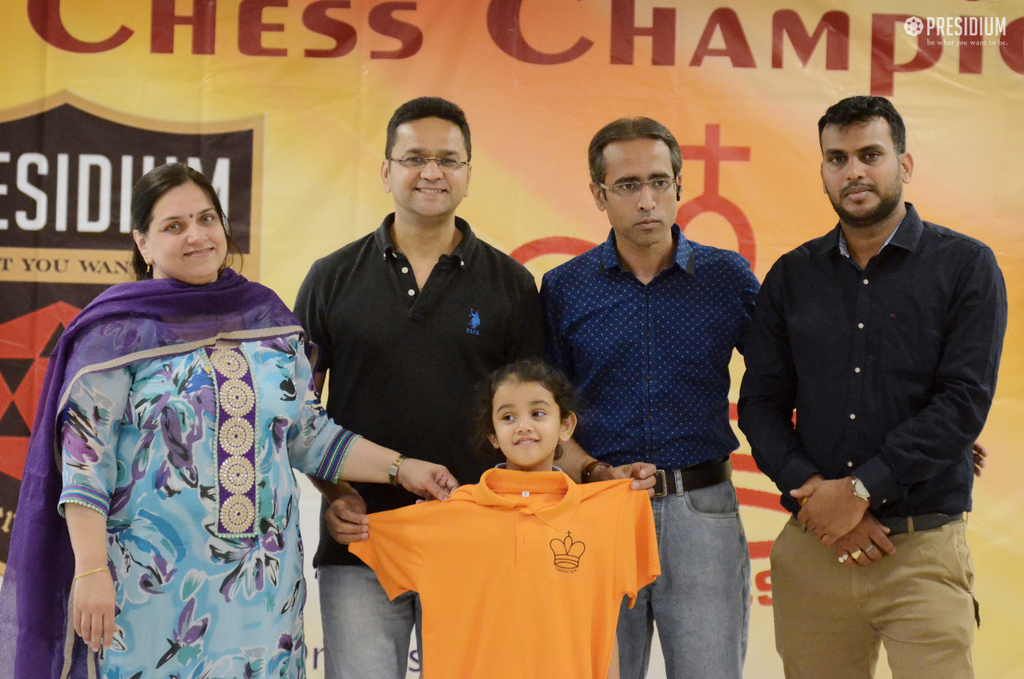 ADVAITT & AARINI STAND VICTORIOUS AT DISTRICT CHESS CHAMPIONSHIP 2019