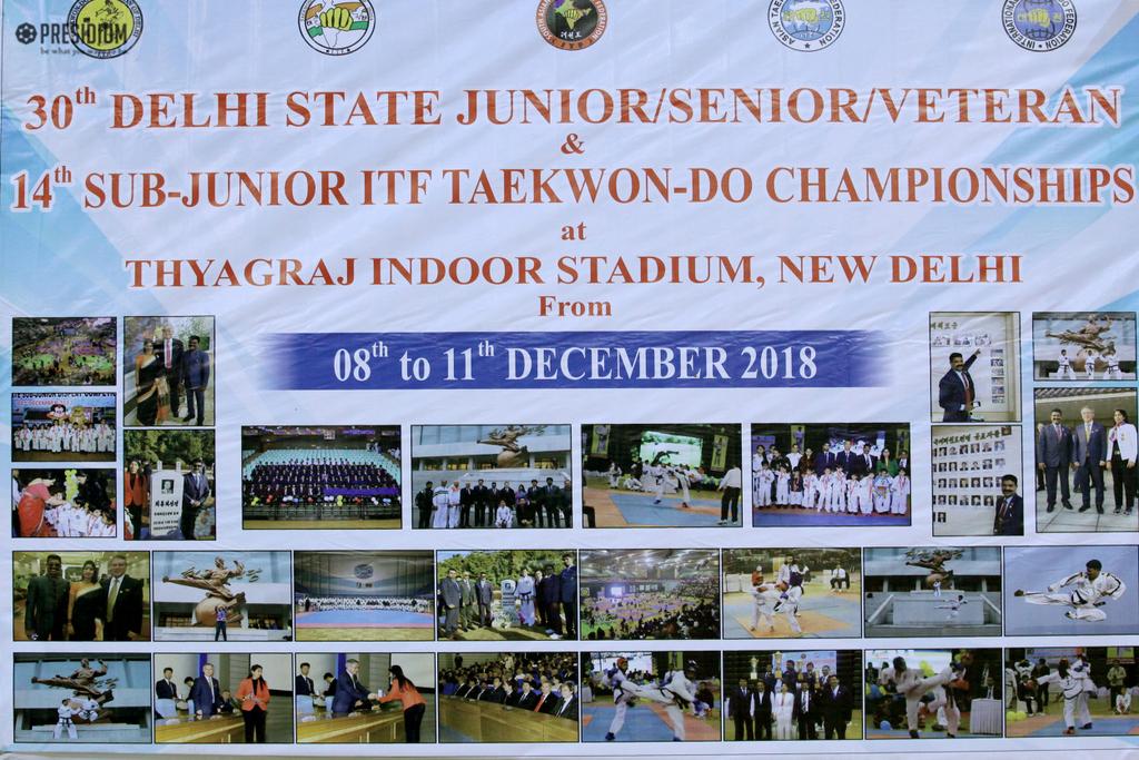 SUB JUNIOR TAEKWONDO CHAMPIONSHIP 2018