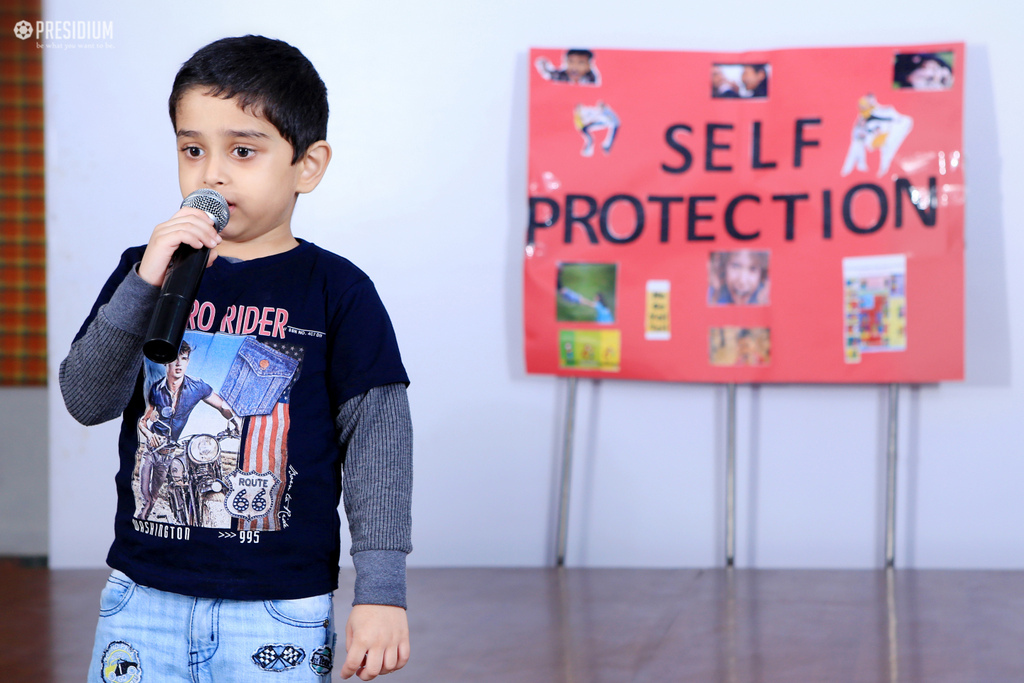 LITTLE PRESIDIANS PRESENT AN ALARMING ASSEMBLY ON SELF-PROTECTION