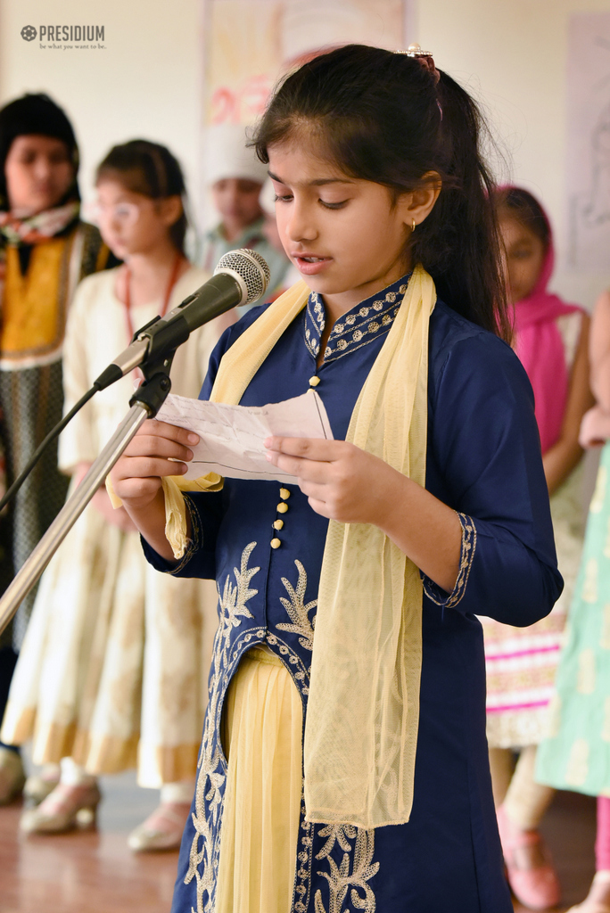 PRESIDIANS CREATE A PIOUS ATMOSPHERE IN SCHOOL ON GURPURAB